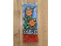 Handmade Floral Mural Wall Art