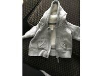 Grey boys hoodie H&M upto 1 month