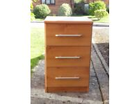 Pair of bedside chest of drawers