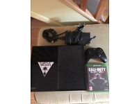 Xbox one + 2 controllers and 2 games