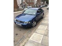 Audi A4 Blue automatic diesel for sale full service history