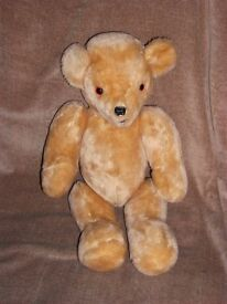 COLLECTABLE PLUSH TEDDY BEAR WITH ARTICULATING ARMS & LEGS 18 inches tall
