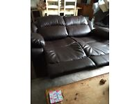 Two reclining sofas can sell separate