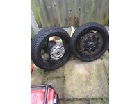 Honda Fireblade 929 2001 wheels