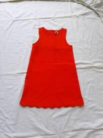 Girls Orange dress