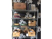 Open shelving system - SOHO style (IKEA)
