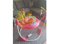 Pink Jumparoo great condition selling as no longer used and need the space