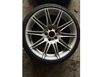 "BMW 19"" M Sport Alloy wheels with tyres"