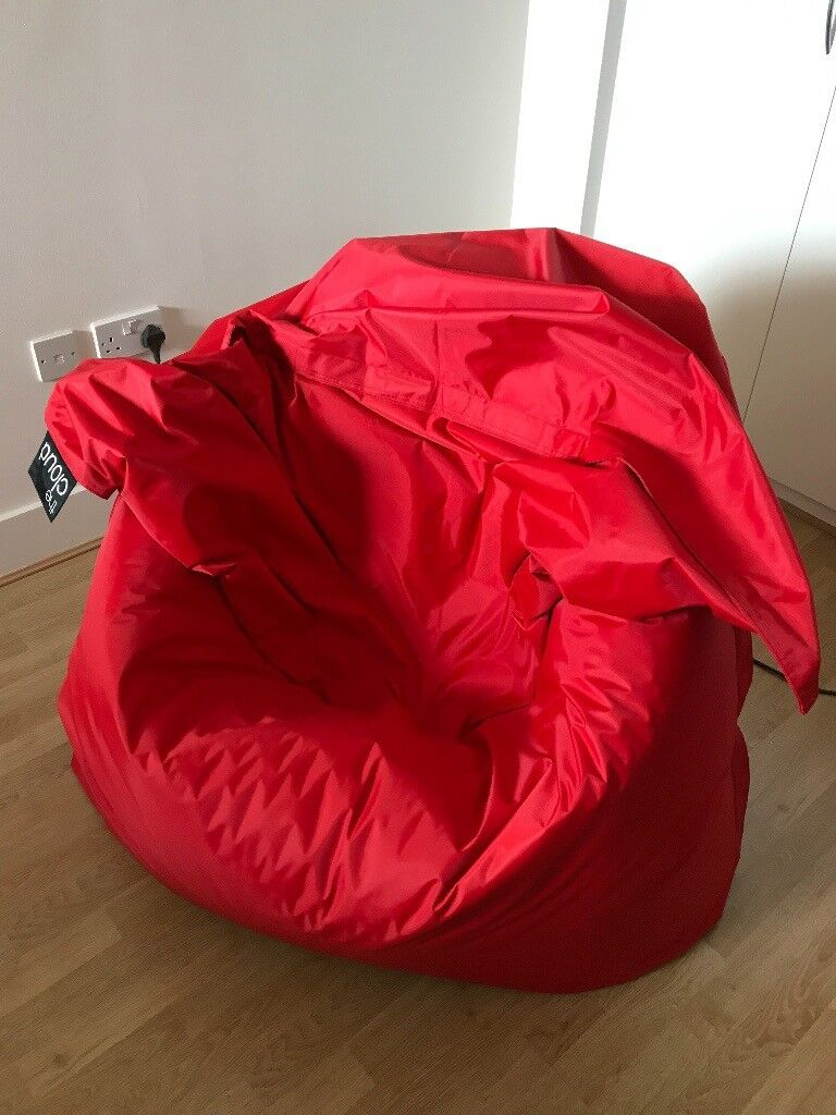 BRAND NEW UNUSED XXL Red Bean Bag Chair