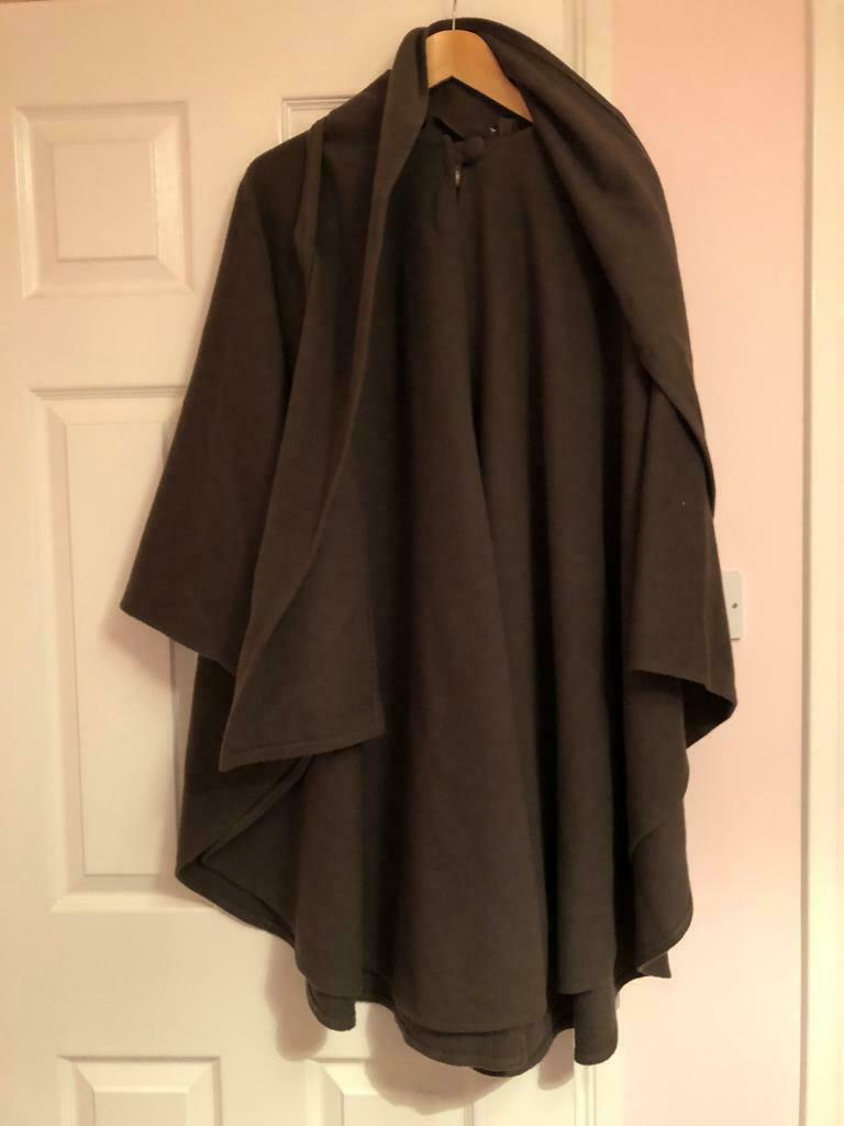 Johnstons of Elgin Cashmere Stole Mink Brown BNWT