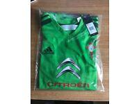 RC CELTA VIGO - Official Adidas Away Shirt Mens S,L,XL (Brand New)