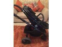 Icandy peach 3 carrycot & pushchair