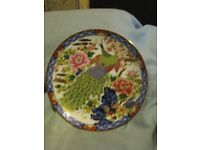 Assorted decorative wall plates