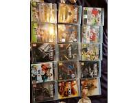 Playstation 3 head set and 15 games