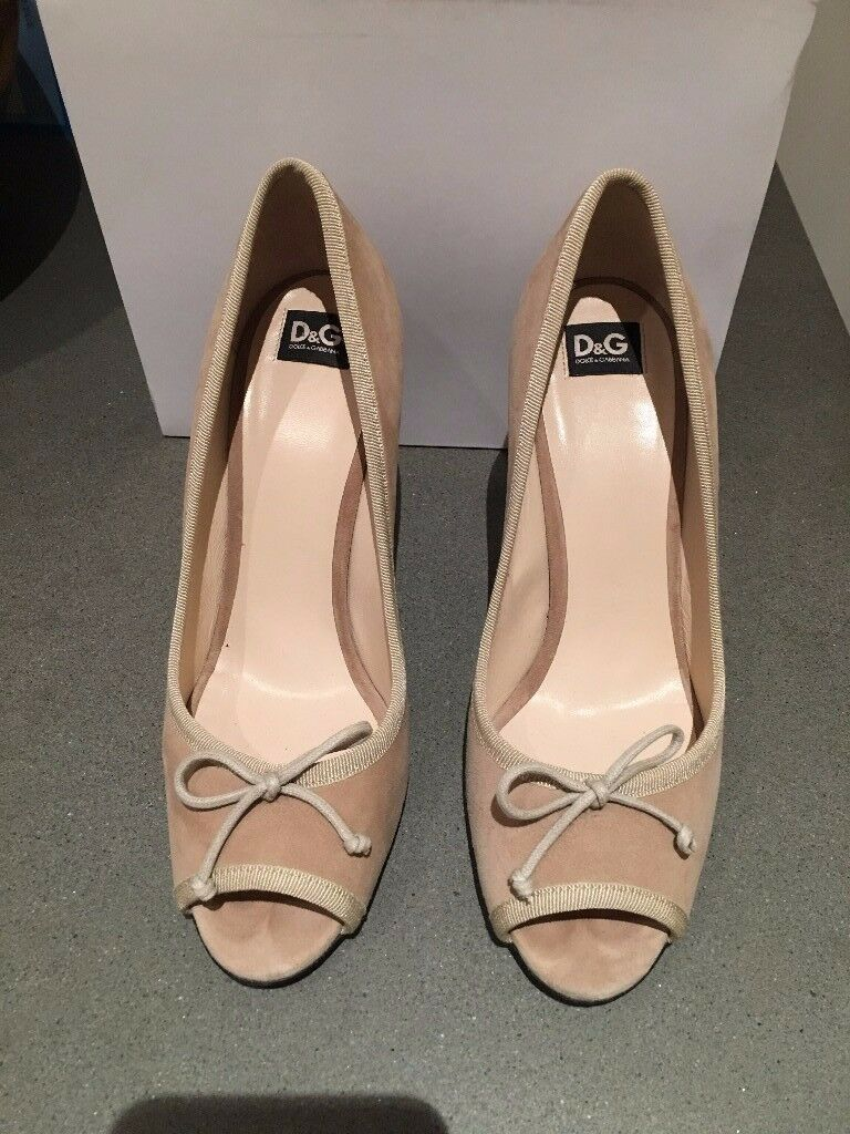 D&G Dolce Gabbana Suede shoes, Size 38(IT), 5(UK)