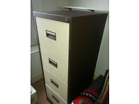 Four-Drawer Filing Cabinet in Good Condition
