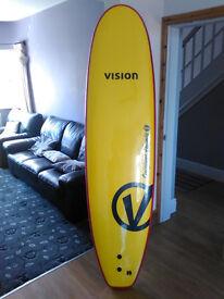 Vision Original Foamie 7'0 Beginner/Fun Surfboard (Brand New Top Of Range)