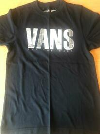 Boys Vans, North Face & Converse Tops