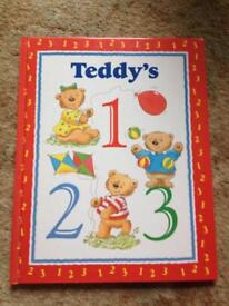 Children's learn to count book