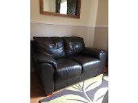 Beautiful 3 and 2 seater Leather Sofas for sale