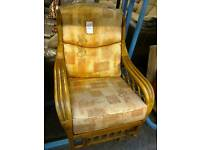 2 cane conservatory Chairs #26814 £40