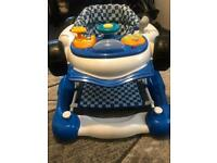 Child Car 2-in-1 Baby Walker - Blue
