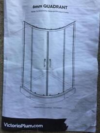 Victoria Plum 800 x 800 Shower Enclosure