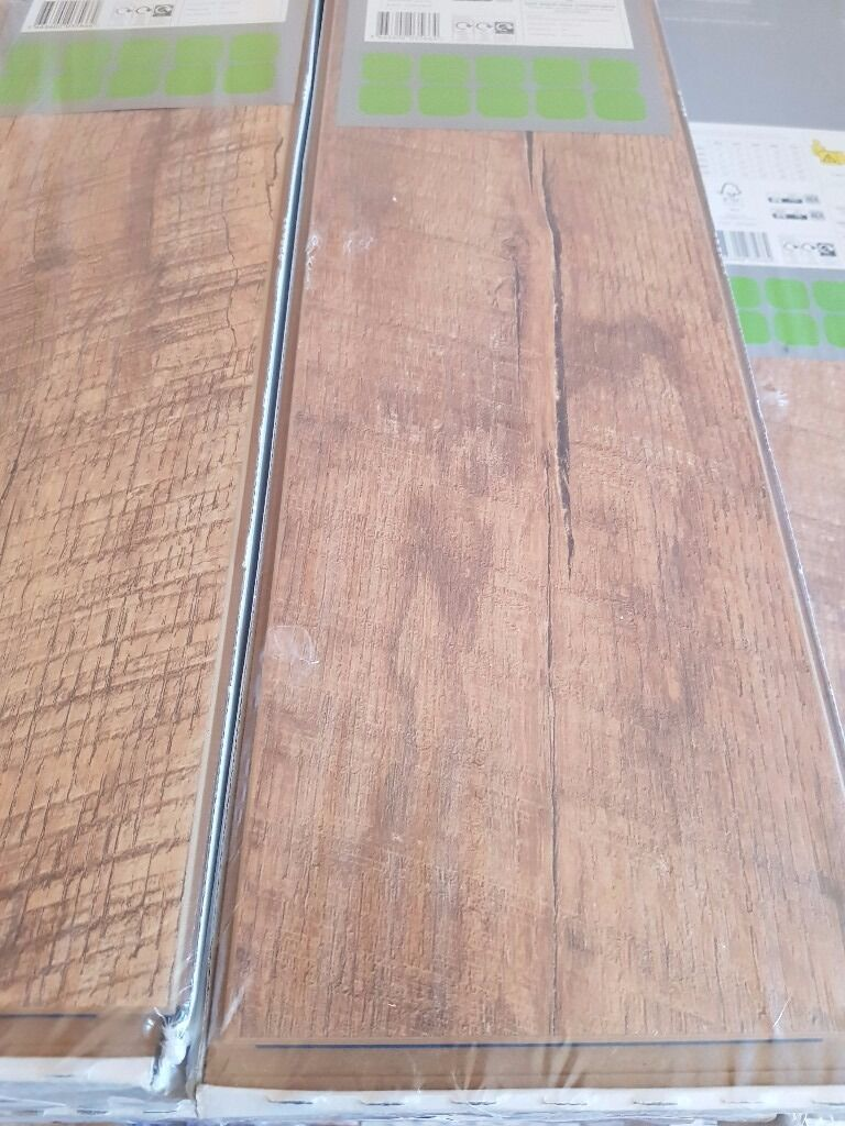Guarcino Reclaimed Oak Effect Laminate Flooring 1 64 M² Pack Free Underlay With This