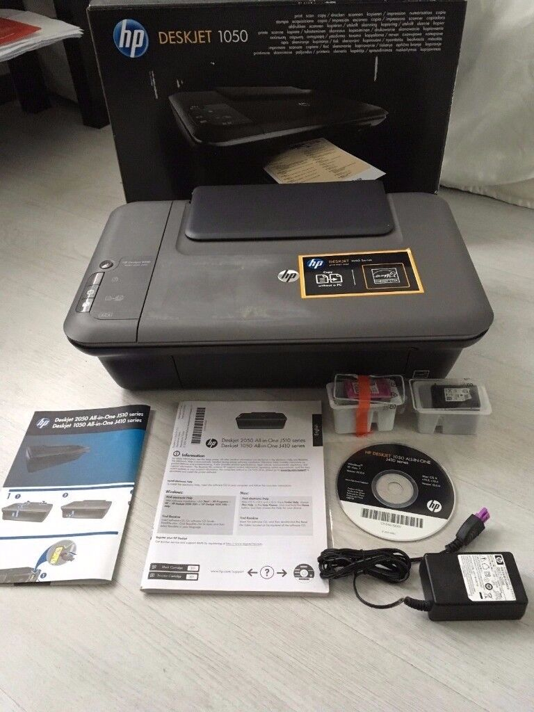 HP DeskJet 1050 All-in-One Inkjet Printer