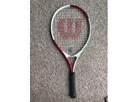 Wilson Tour 25 Tennis Racket! Like NEW! FOR SALE!