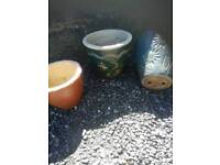 3nice garden pots