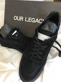 Brand new ,black ,with box , our legacy -beautiful