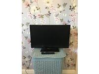 20 inch TV WITH BUILT IN DVD PLAYER.