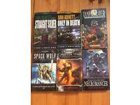 7 x Warhammer / 40K / Black Library books