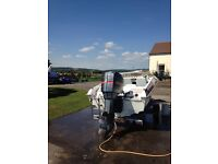 Picton speed boat with trailer