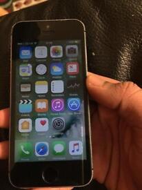 iPhone 5s 16gb o2/giffgaff okay condition