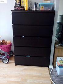 Ikea 6 drawers