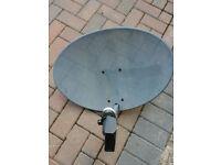 Satellite dish zone1 + twin LNB