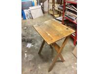 School oak desk