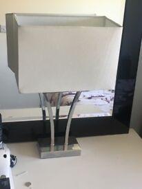 2 x lamps
