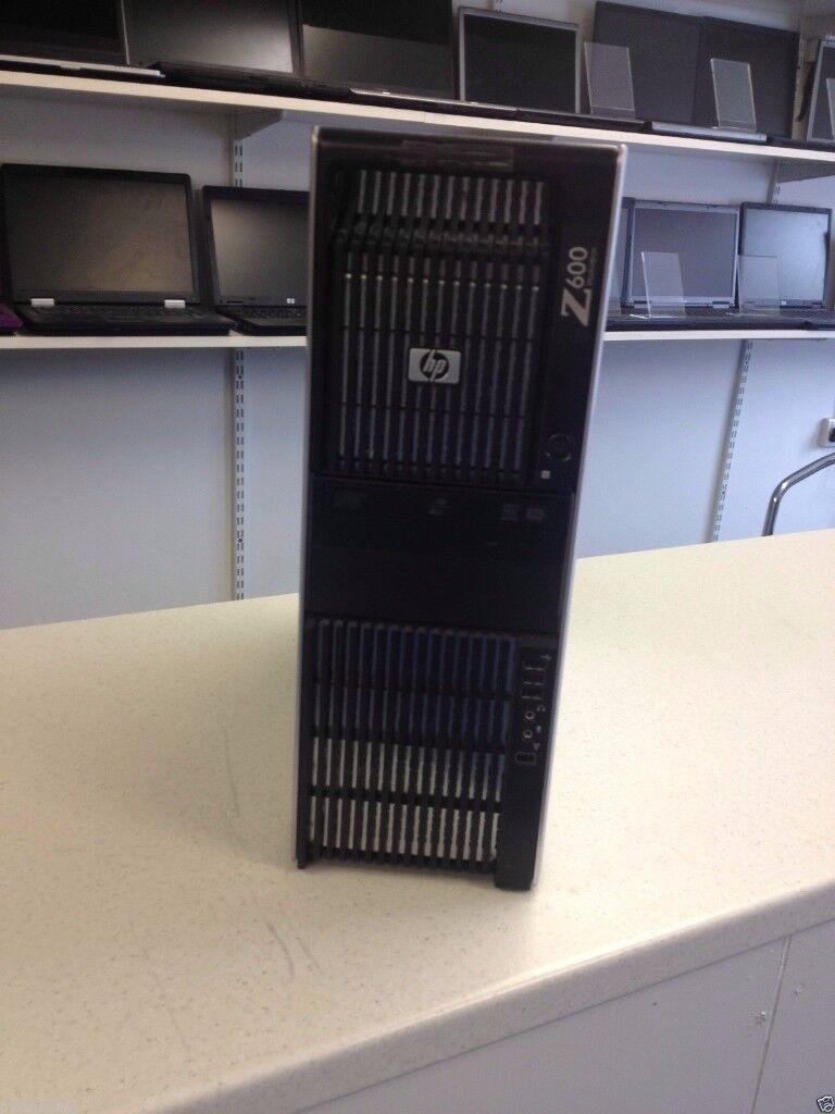 HP Z600 Tower Dual Quad Core Xeon X5520 @ 2.27GHZ 8GB, 500GB DVD ROM TESTED