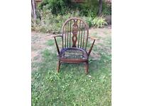 Ercol chair + 2 others