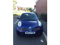 Nissan Micra, 53 plate, 82000 miles