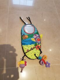 Mamas & Papas Car Activity Panel Mirror Toy