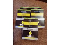Genuine Lexmark 100XL Printer Cartridges - Yellow