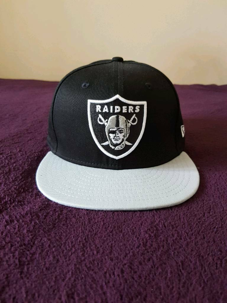 603a43965 Raiders snap back hat