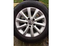 """Volkswagen 15"""" Alloy wheels"""