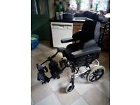 Invacare Rea Azalea tilt and recline wheelchair used