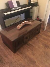 Indian mango wood coffee table