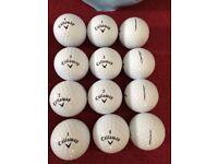 Srixon, Callaway, Taylor Made, Wilson Staff, Titlest, Bridgestone and Nike golf balls